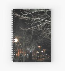 New Year´s Eve in the City Spiral Notebook