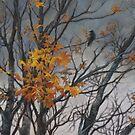 Autumn wind by Vira Kalinovska