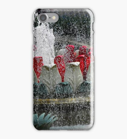 Fountain in Tivoli Gardens iPhone Case/Skin