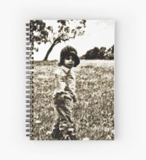 Unposed kids photography Spiral Notebook