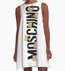 Cute Moschino Teddy Bear A-Line Dress