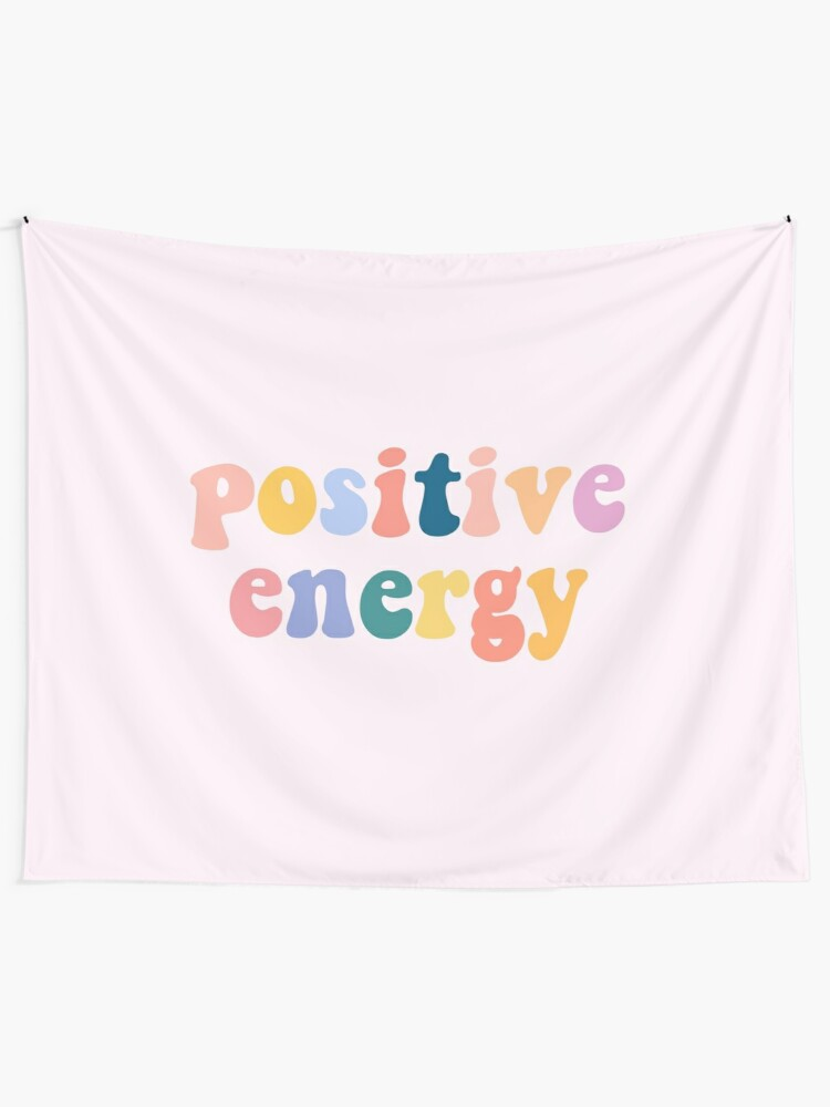 Alternate view of Positive Energy Wall Tapestry