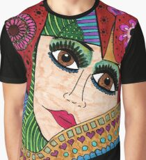 Dreamy Woman Graphic T-Shirt