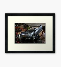 mazda concept car Framed Print