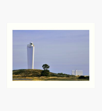 Cape Jervis Light-House Art Print