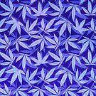 «Purple Haze - Cannabis / Hemp / 420 / Marijuana - Patrón» de badbugs