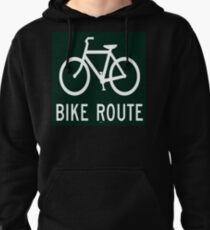 Your Bike Route Pullover Hoodie