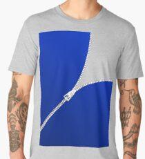 ZIPPER FIVE BLUE Men's Premium T-Shirt