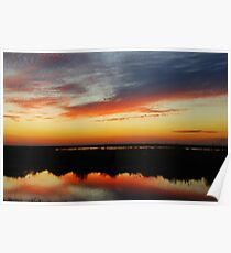 RED SKY AT NIGHT SAILOR'S DELIGHT Poster