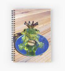 Cuaderno de espiral frog prince