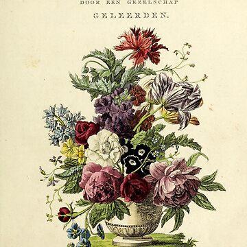 Nederlandsch bloemwerk (Dutch Flower Arrangements) from 1794 by douglasewelch