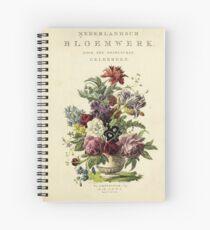 Nederlandsch bloemwerk (Dutch Flower Arrangements) from 1794 Spiral Notebook