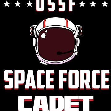 Space Force Cadet – Helmet  by kmpfanworks