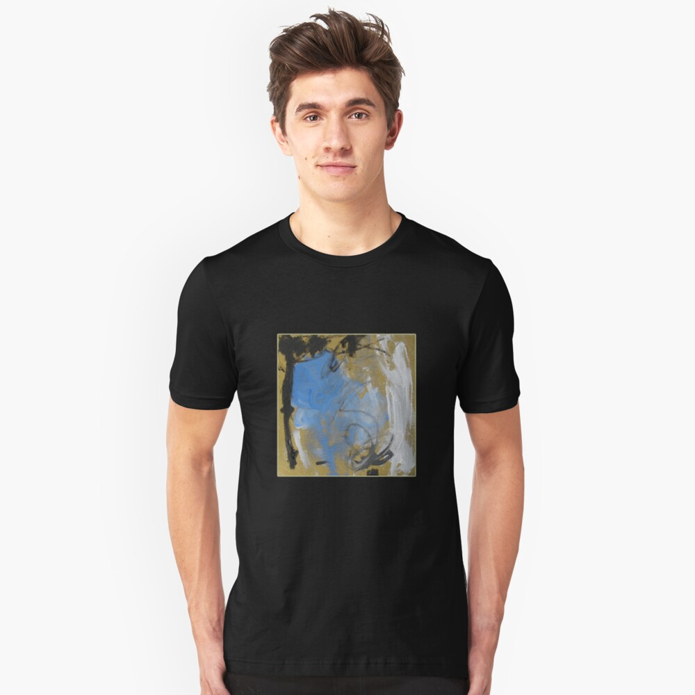 Abstract before Christmas Slim Fit T-Shirt