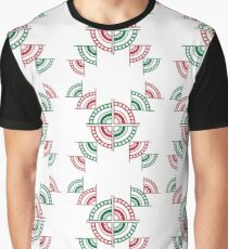 Christmas Baubles Exploded Graphic T-Shirt