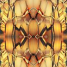 Golden Metal pattern by LoneAngel