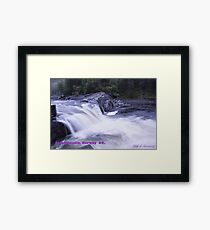 Waterfall . Trondelag . Norway . by Brown Sugar with WOOOOOws !!! thanks !!!  View (248) favorited by (1) thx ! OK! Framed Print