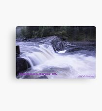 Waterfall . Trondelag . Norway . by Brown Sugar with WOOOOOws !!! thanks !!!  View (248) favorited by (1) thx ! OK! Canvas Print