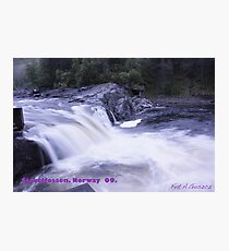 Waterfall . Trondelag . Norway . by Brown Sugar with WOOOOOws !!! thanks !!!  View (248) favorited by (1) thx ! OK! Photographic Print