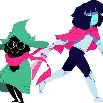 Kris and Ralsei by KenneDuck