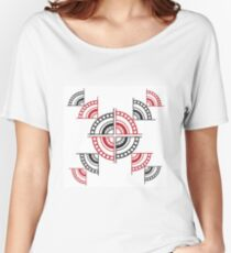 Exploded Women's Relaxed Fit T-Shirt