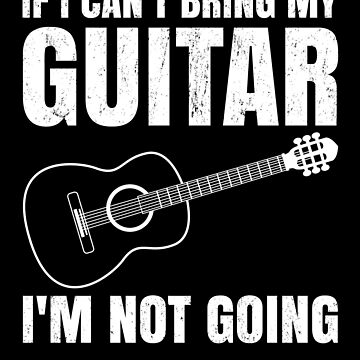 Funny Acoustic Guitar Player Gift T-Shirt and other Items by EstelleStar