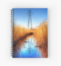 Pylon in a Reed Bed Spiral Notebook