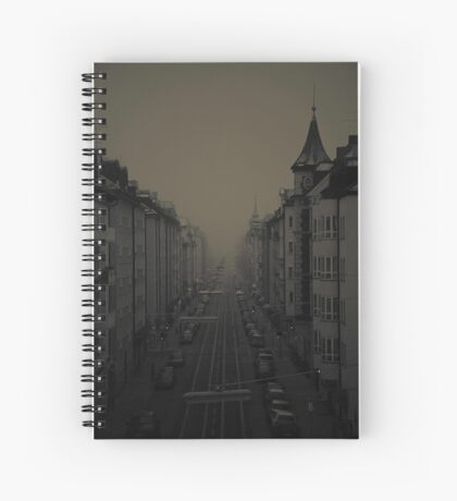 fading away Spiral Notebook