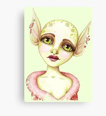 Goblin Girl Wishes Canvas Print