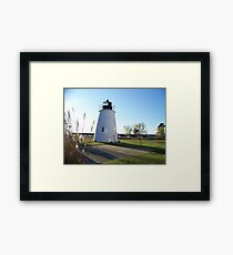 Piney Point Lighthouse Maryland Framed Print