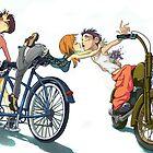 3rd Wheel - Anime inspired by David Sourwine