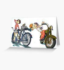 3rd Wheel - Anime inspired Greeting Card