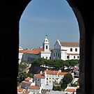 Looking out at Lisbon by Peter Gostelow