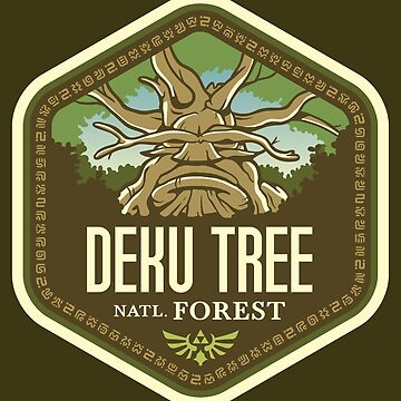 Deku Tree National Forest by knightsofloam