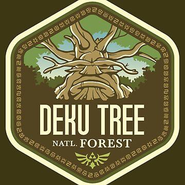 Bosque Nacional Deku Tree de knightsofloam