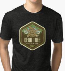 Deku Tree National Forest Tri-blend T-Shirt