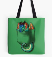 Wings of Fire - Pocket Glory Dragon Tote Bag