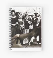 Emancipate my Stockings  Spiral Notebook