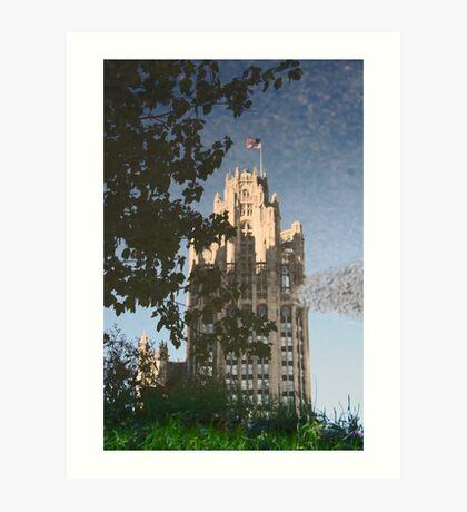 Chicago Reflections II Art Print