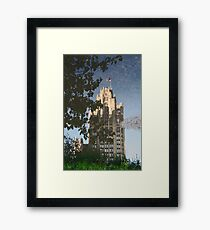 Chicago Reflections II Framed Print