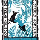 1925 Paris Art Deco Exhibition by historicimage