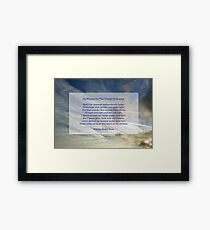 """""""He wishes for the cloths of heaven"""" by William Butler Yeats Framed Print"""