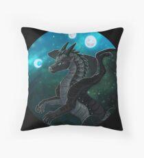 Wings of Fire - Moonwatcher Throw Pillow