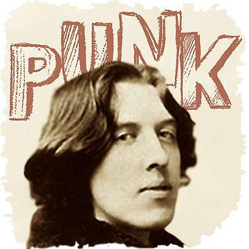 Oscar Wilde Punk by LittleRedChucks