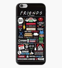 Vinilo o funda para iPhone amigos negros