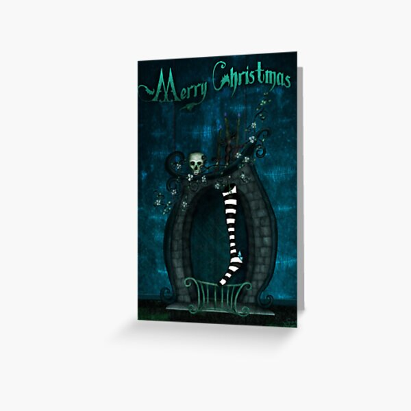 A Witch's Christmas (card) Greeting Card