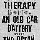 Werfen Sie Ihre alten Autobatterien in den Ozean von terrydean