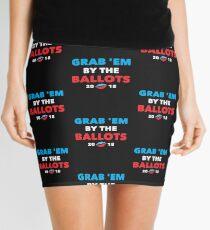 Grab 'Em By The Ballots 2018 Gifts Political Politics Shirts Mini Skirt
