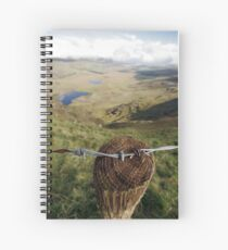Clouds over the Conor Pass Spiral Notebook