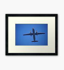 Military Airplane Framed Print